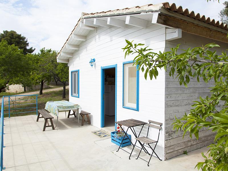 bungalow in legno esterno